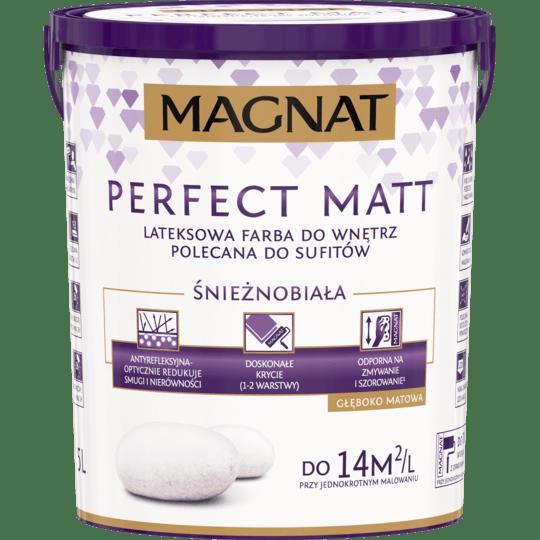 MAGNAT Perfect Matt Biały biały 5 L