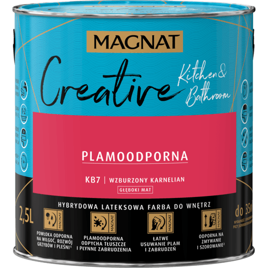 MAGNAT Creative Kitchen&Bathroom wzburzony karnelian 2,5 L