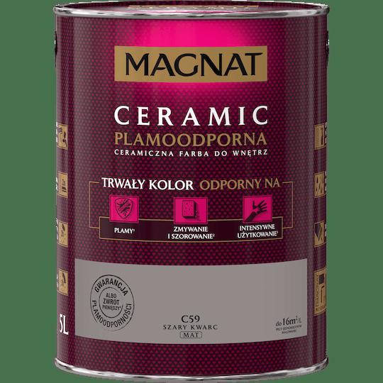 MAGNAT Ceramic szary kwarc 5 L
