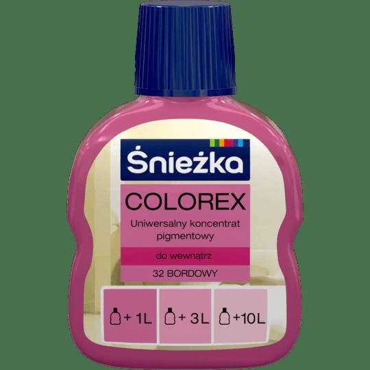 Śnieżka Colorex bordowy 0,1 л