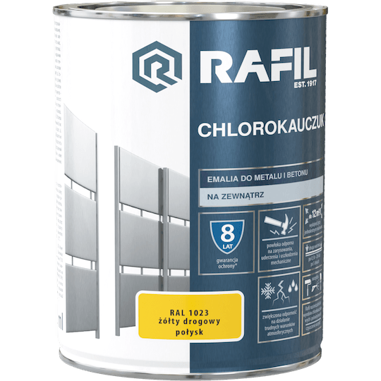 Rafil Chlorinated Rubber Enamel RAL1023