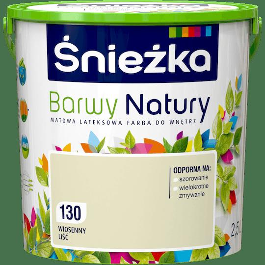 ŚNIEŻKA Barwy Natury wiosenny liść 2,5 L
