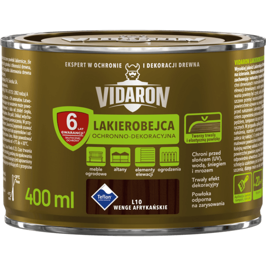 Vidaron Stain & Varnish African wenge 0,4 L