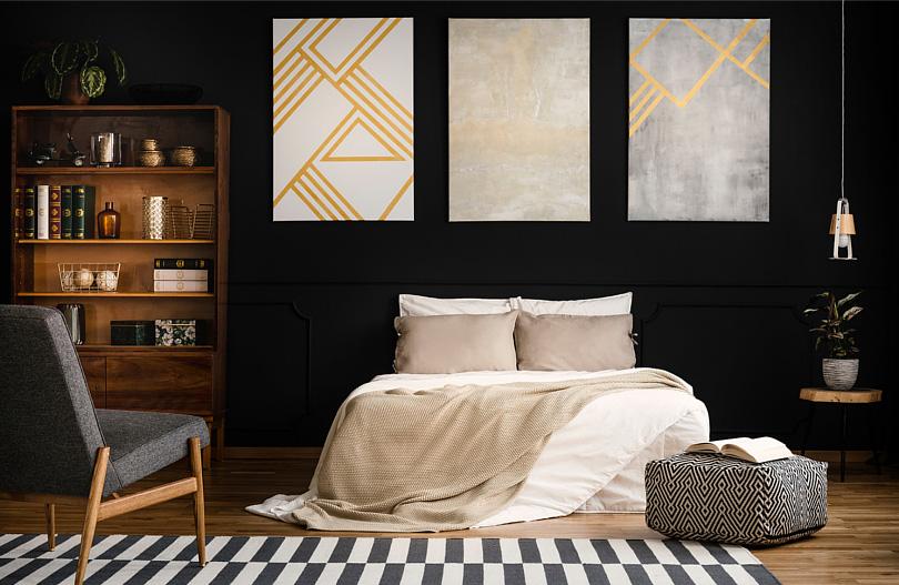 Czarna ściana w sypialni.jpg