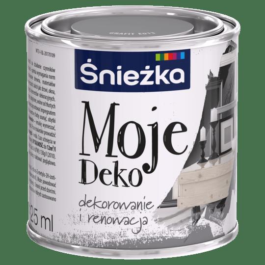 Moje Deko Эмаль Aкриловая графитовый 0,125 л