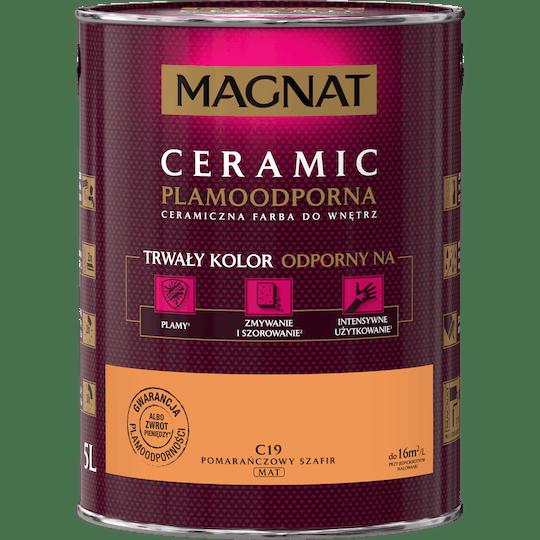 Magnat Ceramic orange sapphire 5 L