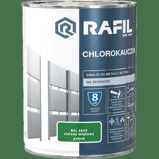 Rafil  Эмаль Хлоркаучуковая RAL6029