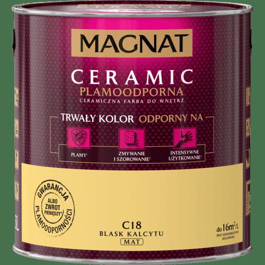 MAGNAT Ceramic blask kalcyt C18 2,5L