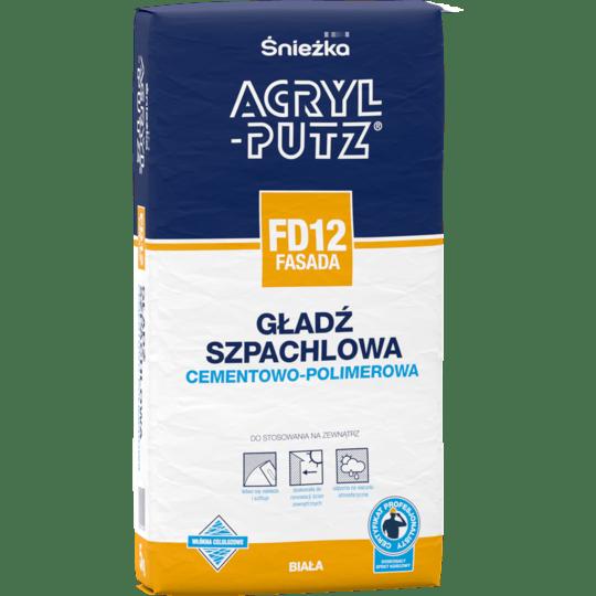 ŚNIEŻKA Acryl-Putz® FD12 Fasada biały 5 kg