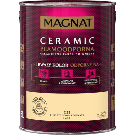 MAGNAT Ceramic bursztynowa komnata 5 L