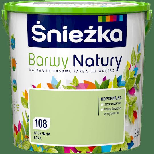 ŚNIEŻKA Barwy Natury wiosenna łąka 2,5 L