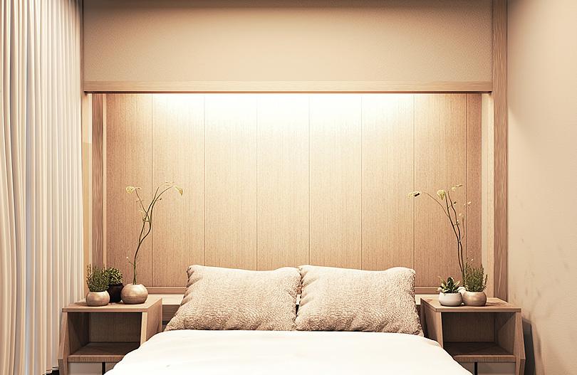 Sypialnia w stylu japońskim - kolory orientu w sypialni min.jpg