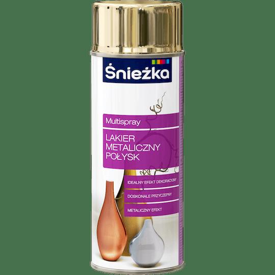 Śnieżka Multispray Metallic Sheen Gold Effect