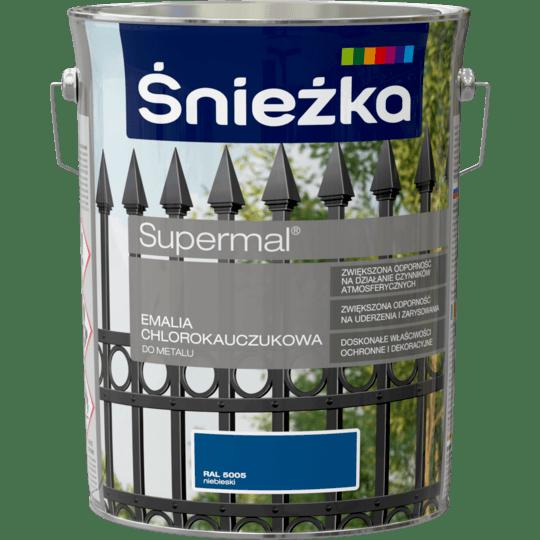 ŚNIEŻKA Supermal® Emalia Chlorokauczukowa RAL5005 5 L