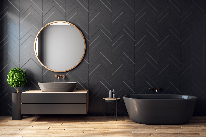 Czarna łazienka - nowoczesna i stylowa aranżacja