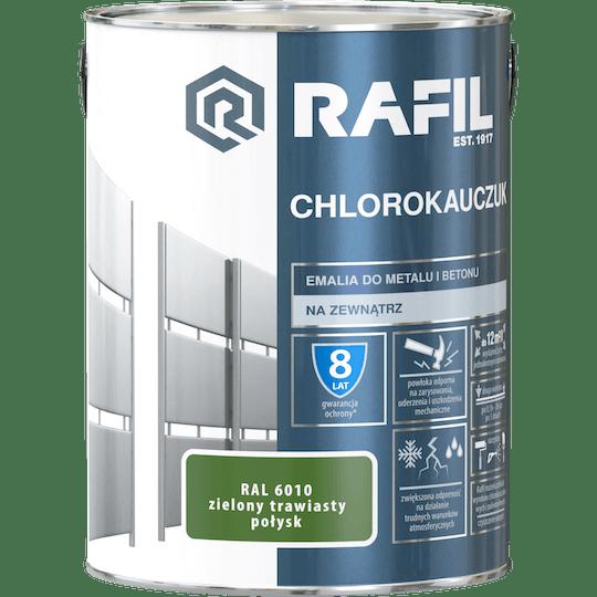 Rafil  Эмаль Хлоркаучуковая RAL6010