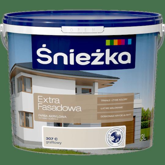 ŚNIEŻKA Extra Fasadowa grafitowy C 3 L
