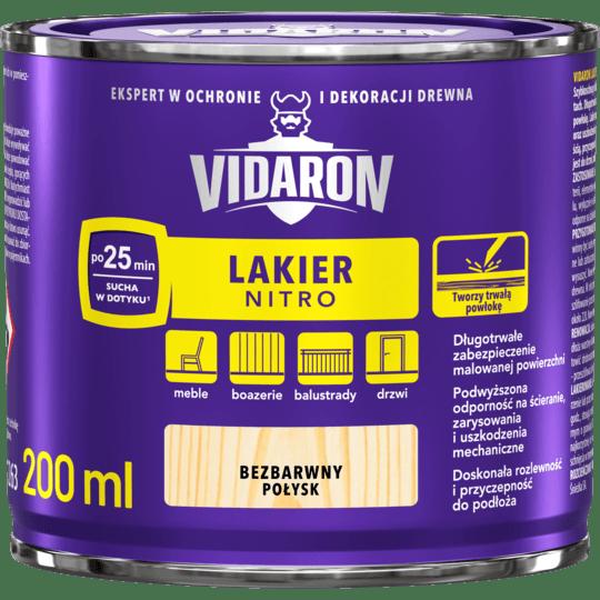 VIDARON Lakier Nitro Połysk