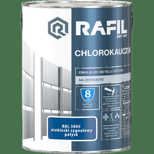 Rafil  Эмаль Хлоркаучуковая RAL5005