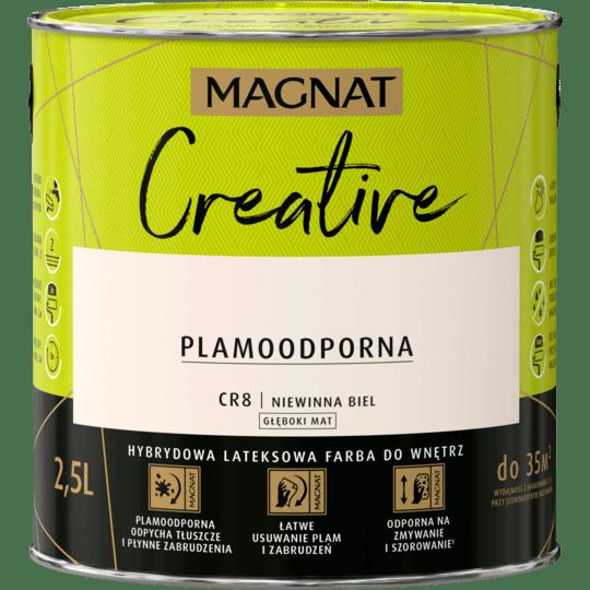 MAGNAT Creative niewinna biel CR8 2,5L