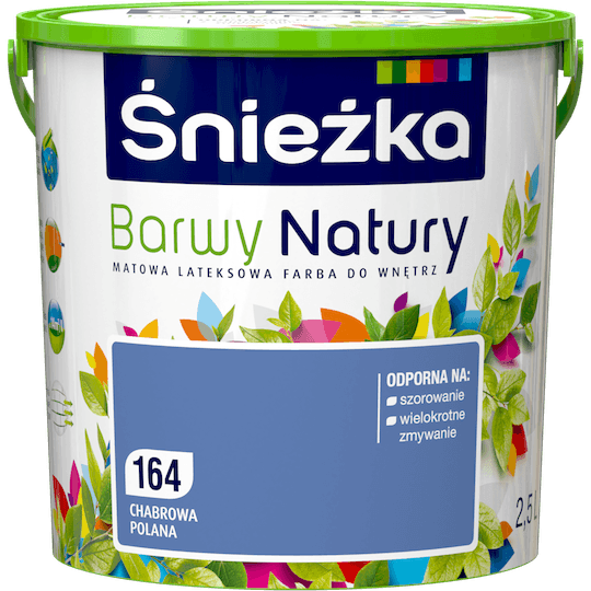 ŚNIEŻKA Barwy Natury chabrowa polana 2,5 L