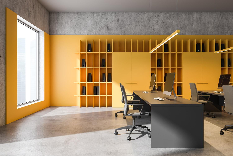 4 kolory do biura, które wpływają na motywację i koncentrację w pracy