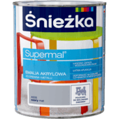 ŚNIEŻKA Supermal® Emalia Akrylowa Satynowy Mat
