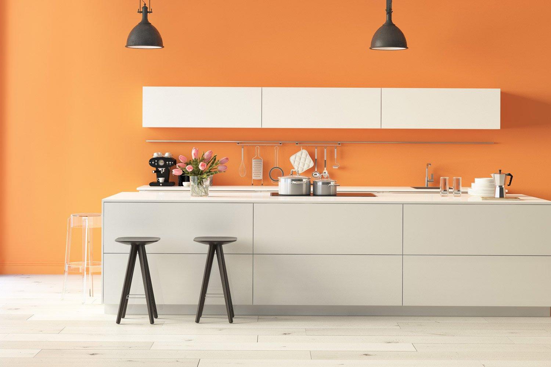 Jakie farby do ścian w kuchni wybrać?