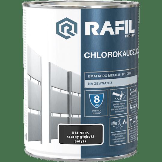 RAFIL Emalia Chlorokauczukowa RAL9005