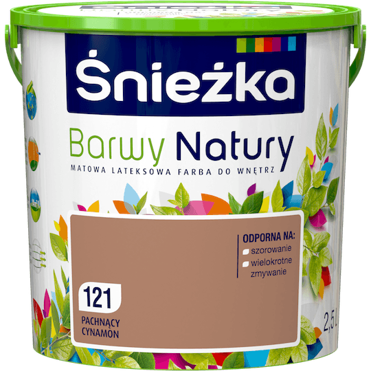Śnieżka Colours of Nature fragrant cinnamon 2,5 L