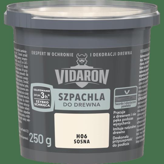 VIDARON Szpachla Do Drewna sosna 0,25 KG