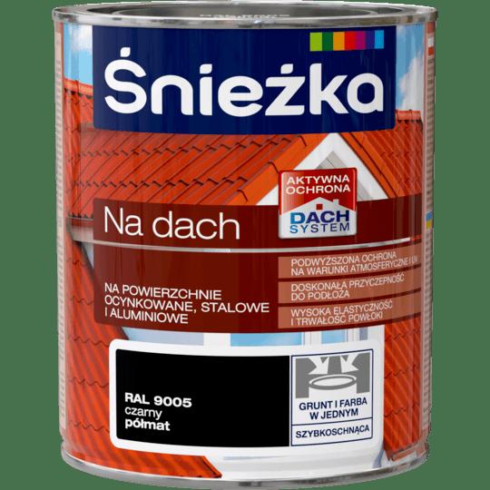 ŚNIEŻKA Na Dach RAL9005 0,75 L
