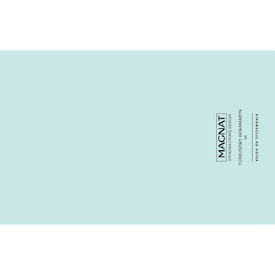 MAGNAT Ceramic Care Kolor do testowania turkusowy akwamaryt 1 szt