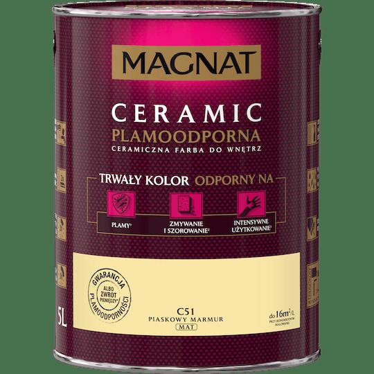 Magnat Ceramic песочный мрамор 5 Л