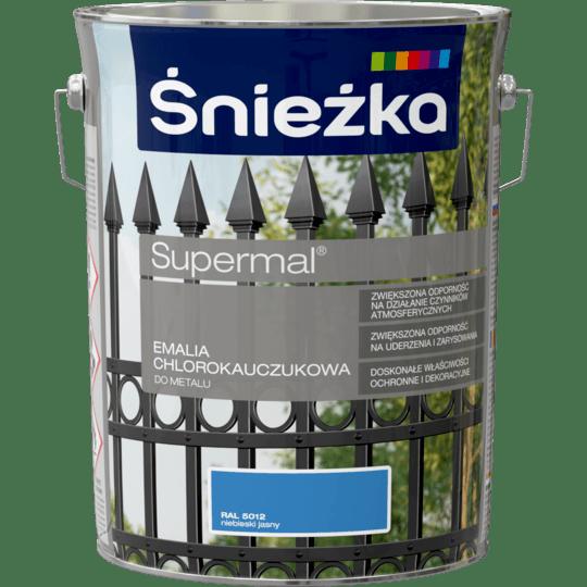 ŚNIEŻKA Supermal® Emalia Chlorokauczukowa RAL5012 5 L