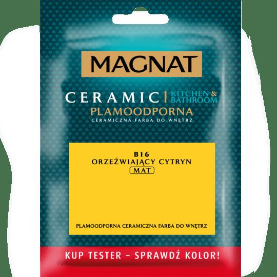 Magnat Ceramic Kitchen Bathroom – paint tester fresh citrine 0,03 L