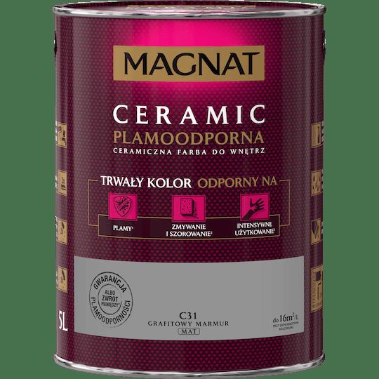 Magnat Ceramic графитовый мрамор 5 Л