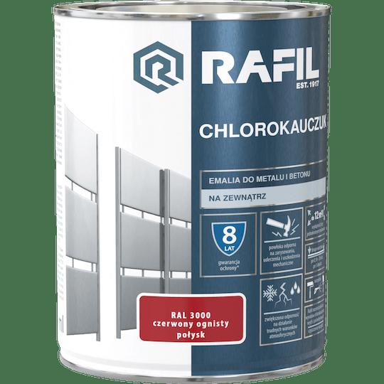 RAFIL Emalia Chlorokauczukowa RAL3000