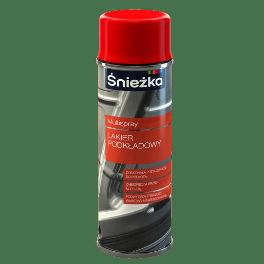 ŚNIEŻKA Multispray Lakier Podkładowy czerwony 0,4 L