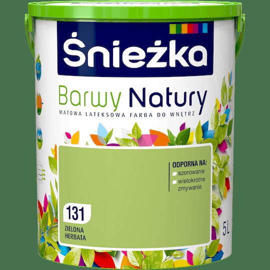ŚNIEŻKA Barwy Natury zielona herbata 5 L