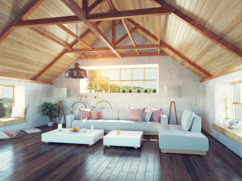 Zabezpieczenie drewnianych belek na suficie