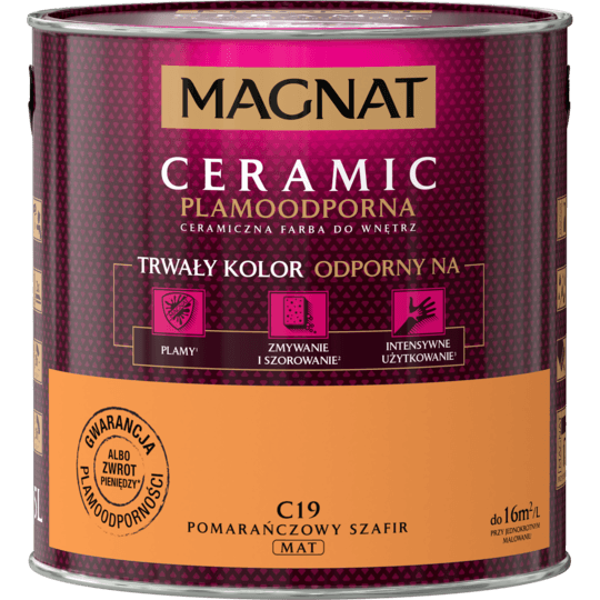 MAGNAT Ceramic pomarańcz szafir C19 2,5L