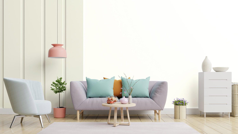 Jak pomalować pokój na dwa kolory?